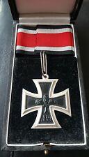 ✚7529✚ German Iron Cross Knight Cross RK medal post WW2 1957 pattern CASED ST&L