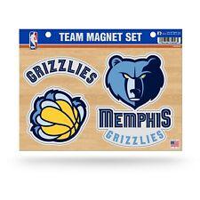 Memphis Grizzlies 3-piece Team Magnet Set. Great Graphics. #A106