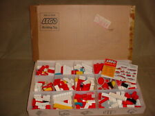 Vintage SAMSONITE 1960's Lego Set In Original Shipping Box  No. 7413