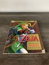 The Legend of Zelda Ocarina of Time Official Nintendo Power Player's Guide N64