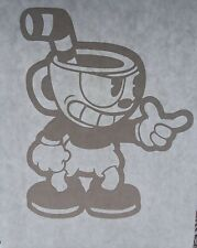 Cuphead Vinyl Decal Sticker for laptops cars or any smooth surface FREE Shipping