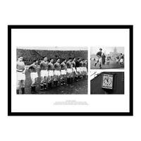 Busby Babes Manchester United Historic Photo Montage Memorabilia (BUBMU1)