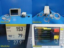 Siemens Drager Infinity Delta XL Patient Monitor W/ EKG Lead & Temp Sensor~21615