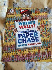 Where's Wally Book - the incredible paper chase