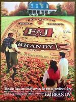 1982 E&J Brandy PRINT AD You're Just An E&J Away From a Perfect Day