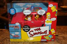 The Simpsons - Talking Family Car - World of Springfield - Playmates - 2001 MIB
