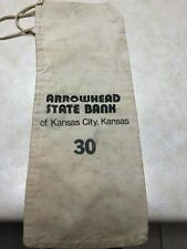 Arrowhead State Bank Coin Bag - Kansas City, Kansas