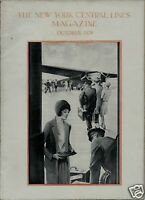 1929 New York Central Lines Railroad Magazine / Buffalo NY Athletics / Photos