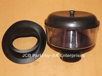 PRECLEANER ASSY. WITH SEAL (PART # 32/914300 32/903100 813/00376)- JCB PARTS NEW