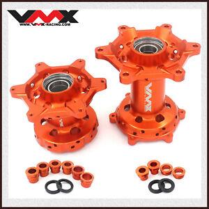 VMX OEM Size Front &  Rear CNC Hubs Fit EXC SX-F 125 250 500 450 2003-2020