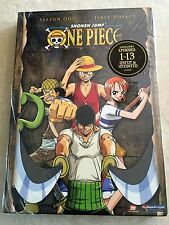 One Piece - Season 1- Vol. 1: First Voyage DVD Uncut / Unedited New