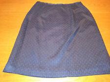 Women's Clothing Norton Mcnaughton Petite 12p Orange Khaki Geometric Print Straight Short Skirt Skirts
