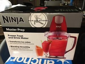 NINJA MASTER PREP FOOD AND DRINK MAKER NIB