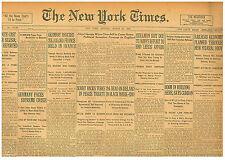 Irish War Ambushes Dublin Curfew Sinn Fein Ira Newspaper March 21 1921 B7