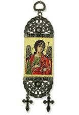 Saint St Michael Tapestry Icon Banner For Room Wall Door Decoration Cross 8""