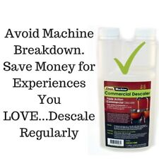 Descaling Solution 1Ltr Coffee Machine Cleaner Liquid Descaler Descale Delonghi