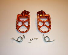 KTM250SX 2015 FOOTPEGS MXPUK WIDE FOOT PEGS KTM ORANGE 2014 KTM250 SX (562)