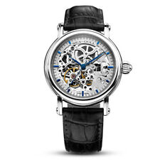 Seagull M182SK Blue Hand Automatic Self Winding Men Watches Double Skeleton