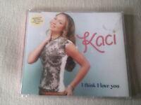 KACI - I THINK I LOVE YOU - UK CD SINGLE