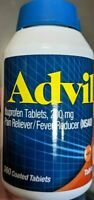 ADVIL Ibuprofen 200 mg Pain Reliever Fever Reducer (NSAID) 360 Coated Tablets