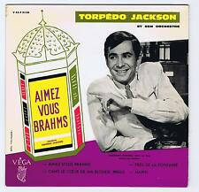 45 RPM EP TORPEDO JACKSON JOUE AIMEZ VOUS BRAHMS (ANTHONY PERKINS)
