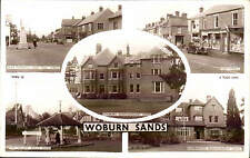 Woburn Sands Multiview by Tuck # WBN 18. Edgbury Convalescent Home, High St. &c