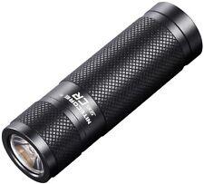 Nitecore SENSCR 190 Lumens/2hrs Black Mini LED Flashlight SENSCR