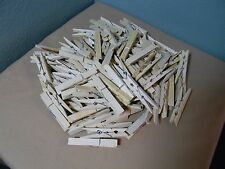 """60-Pcs Wooden Clothespins for Crafts, Photo, Weddings, DIY, School.    2-7/8"""""""