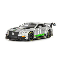 1:32 Bentley Continental GT3 Racing Car Model Car Diecast Toy Vehicle Sound Grey