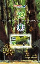 Chile 2002 Brochure 50 años Educacion Forestal Superior en Chile