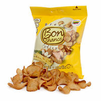 Bon Chance Brotchips - Cheese 10 Beutel je 60 g - Chips - Leckeres Knabbergebäck
