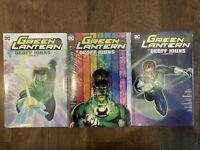 NEW Green Lantern Omnibus Vol 1 2 3 Graphic Novel Lot HC Hardcover TPB 52 Comics