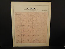 Wisconsin, Dane County Map, 1899 O2#34 Windsor Township