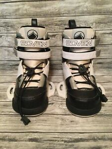 Soven iP Liquid Force Ultra Contact Kite Board Wakeboard Bindings Boots Mens 8 9