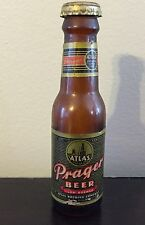 "Vintage PRAGER Beer Atlas Brewing Co. Miniature 4"" Beer Bottle"