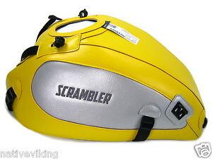 Ducati SCRAMBLER 2015 BAGSTER TANK PROTECTOR COVER yellow 1692B