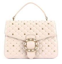 BORSA LIU JO Azzurrite N15203 Frange Bag Pelle 100% Leather Beige Rosa Tan Saldi