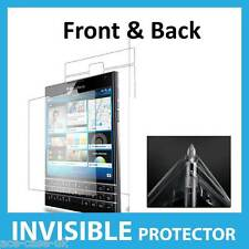 Blackberry passaporto invisibile Screen Protector Shield pelle completo anteriore e posteriore