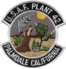 Plant 42 Palmdale 412th Test Wing United States Air Force USAF Embroidered Patch
