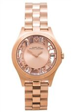 **NEW** MARC JACOBS HENRY ROSE GOLD SKELETON MBM3293 WATCH  - RRP £295