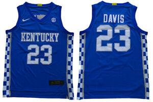 Anthony Davis #23 Kentucky Wildcats Athletics Basketball Men's Jersey - S to 5XL