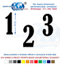 Numeri Adesivi auto/moto racing stickers numero adesivo BernardMT