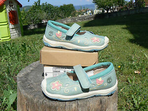 NUOVO Timberland 59856 scarpe bambina num. 26 modello ballerine Mary Jane