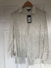 New Look Spotted Blouse Size 8