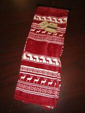 woolrich micro velour blanket throw 50x70 nwt nordic reindeer