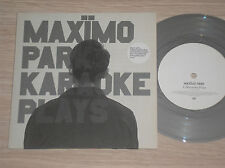"MAXIMO PARK - KARAOKE PLAYS - 45 GIRI 7"" NUMBERED GREY VINYL UK PART 1 OF 3"