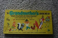 """Vintage 1974 Cadaco """"To Grandmother's House We Go"""" Magnetic Board Game COMPLETE!"""