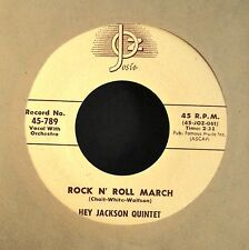 Hey Jackson Quartet Josie 789 Rock N' Roll March and Sixteen Teens