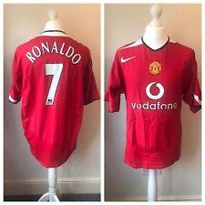 Man United 2004-06 Home Shirt RONALDO #7 Size XXL 2XL
