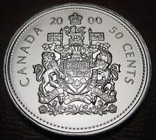 RCM - 2000-w - 50-cents - Coat of Arms - Proof Like - Uncirculated